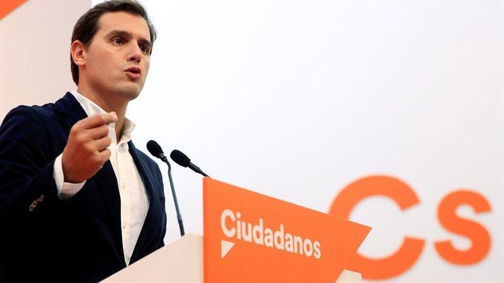 """Rivera: """"Si depende de Ciudadanos, los Presupuestos no saldrán adelante"""""""