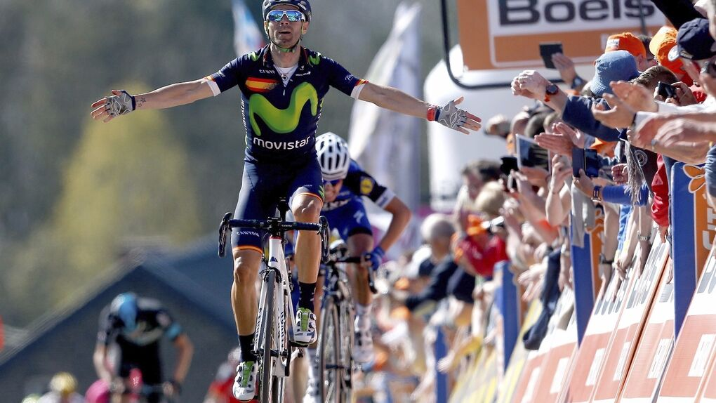 Valverde gana la Flecha Valona por cuarta ocasión y hace historia