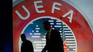 La UEFA paraliza el procedimiento sancionador contra Real Madrid, Barcelona y Juventus por la Superliga
