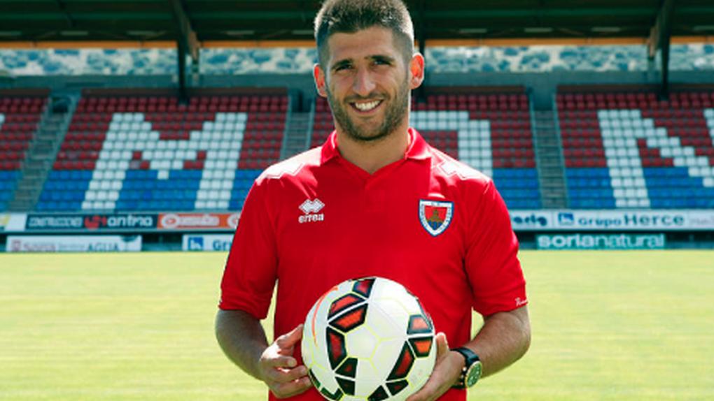 El futbolista del Numancia Álex Arias, condenado a cuatro años de cárcel