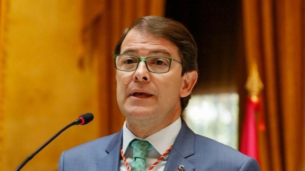 Alfonso Fernández Mañueco, líder del PP en Castilla y León.