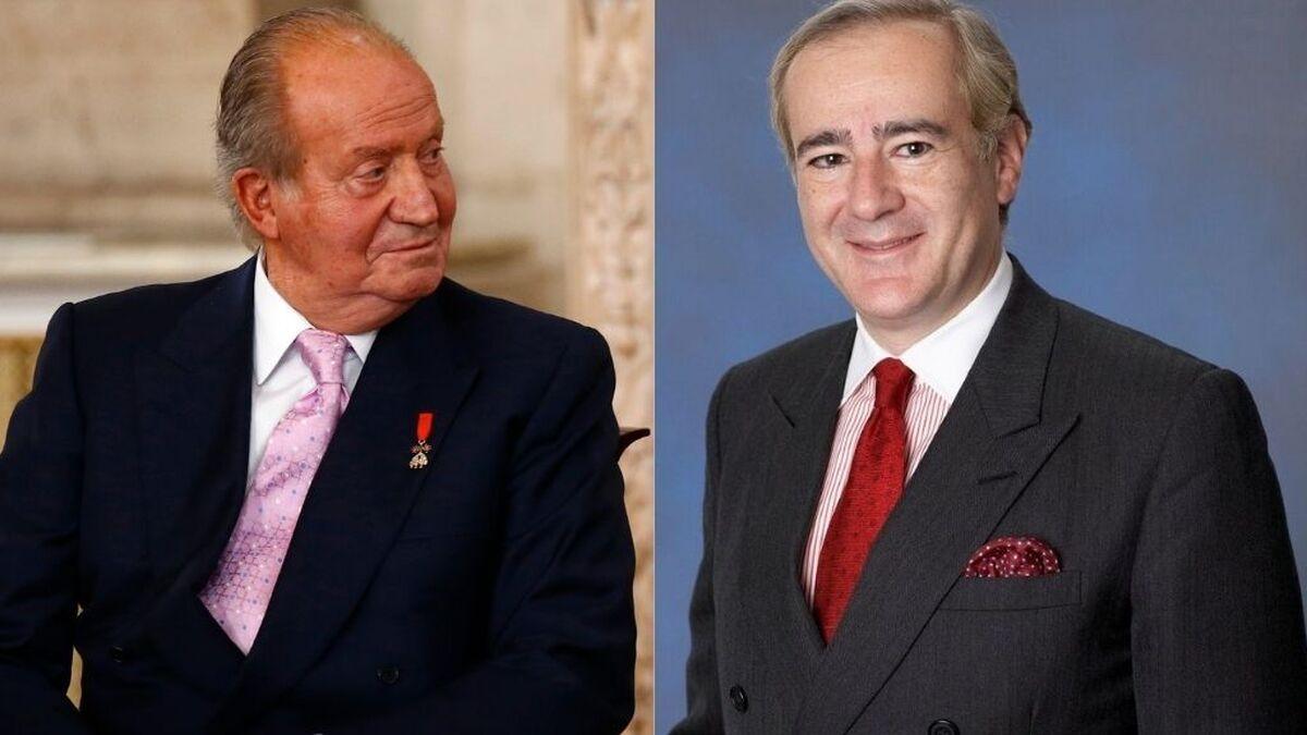 Así es Allen Sanginés-Krause, el amigo íntimo del rey Juan Carlos, implicado en las tarjetas 'black'