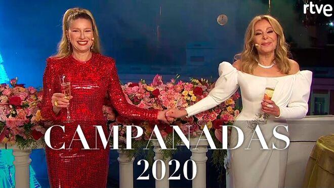 Anne Igartiburu y Ana Obregón, en las Campanadas 2020