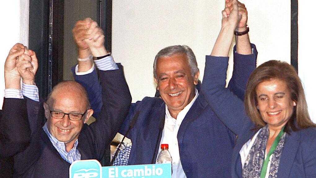 Arenas anuncia que está dispuesto a llegar a acuerdos de gobernabilidad con el PSOE andaluz
