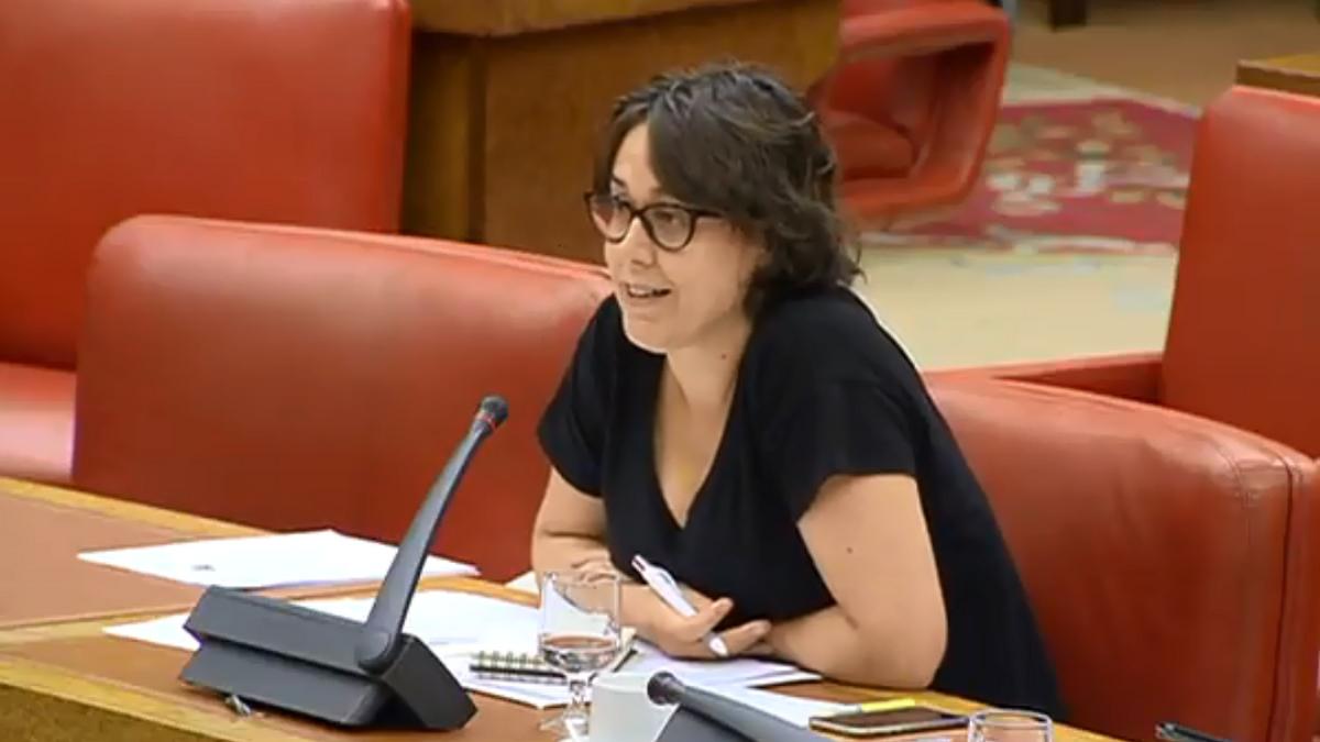 María Teresa Arévalo Caraballo, miembro de Podemos y niñera de Iglesias y Montero