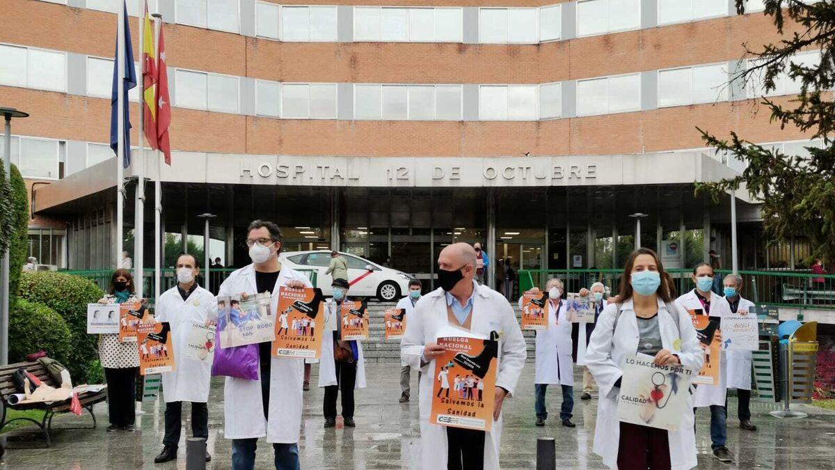 Arranca la huelga nacional de médicos contra el 'decretazo sanitario'
