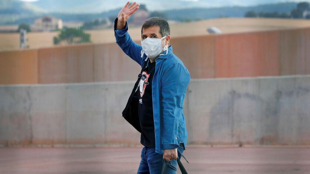 Jordi Sànchez sale de prisión para retomar su labor de voluntariado