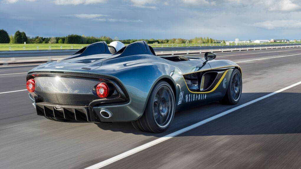 Aston Martin CC100, un concept homenaje a los 100 años de la marca