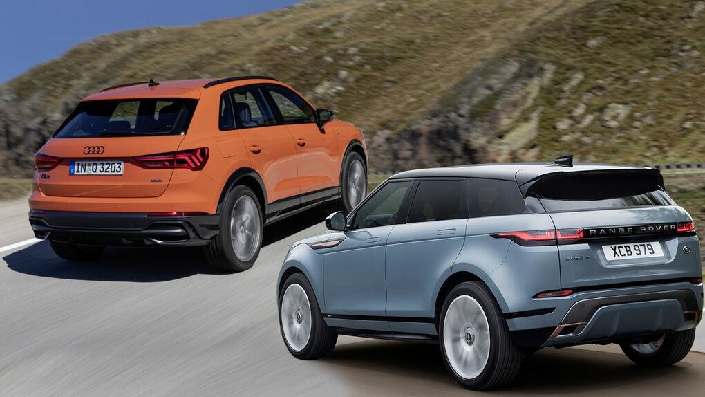 Probamos dos de los SUV más deseados: Audi Q3 TFSi y Range Rover Evoque P200