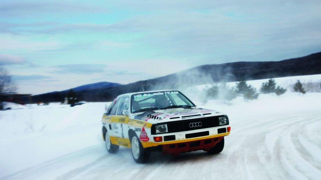 Audi Quattro, el gran especialista en los rallies sobre nieve