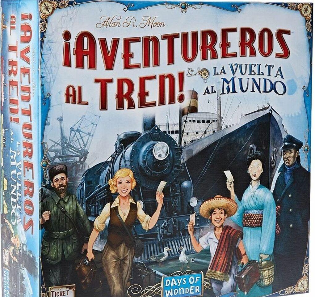 Aventureros al tren: otro gran juego de mesa en familia