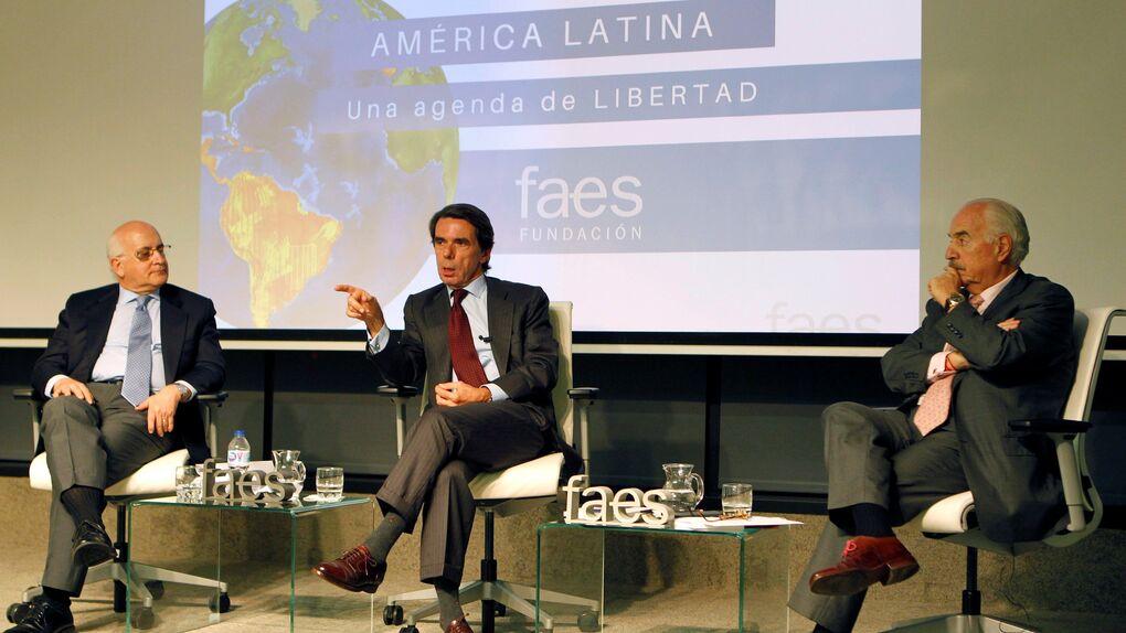 """Aznar asegura que Venezuela es """"la nueva Cuba"""""""
