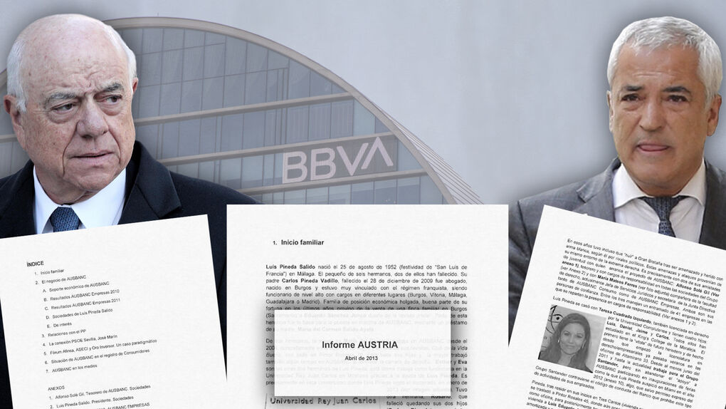 BBVA también contrató a la agencia americana Burson para investigar a Pineda