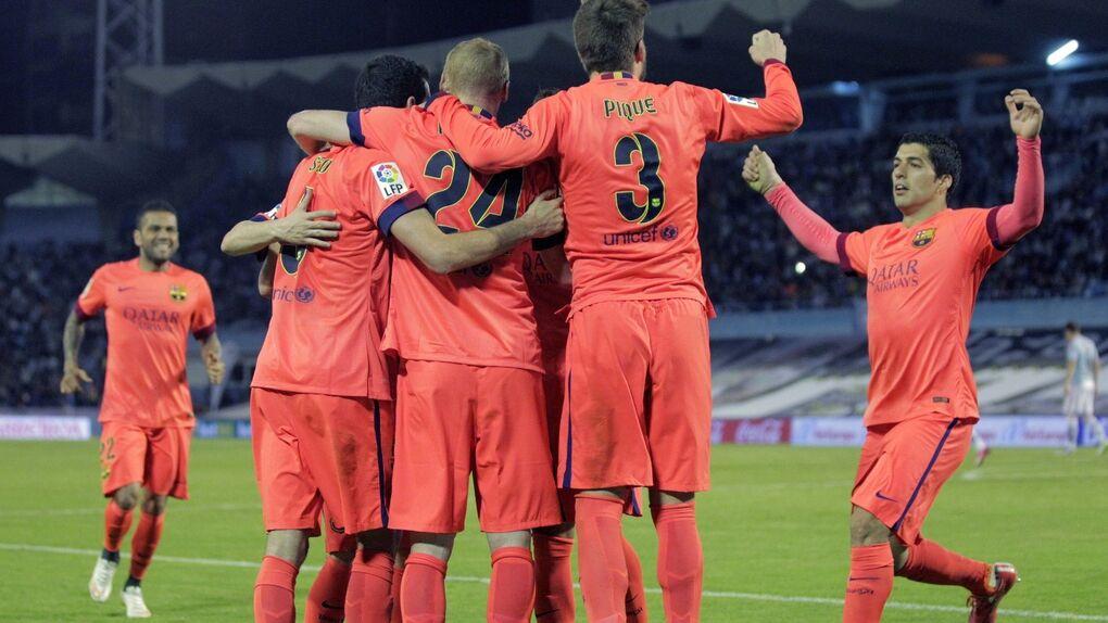 El Barcelona gana sufriendo en Vigo y mantiene su ventaja sobre el Madrid (0-1)