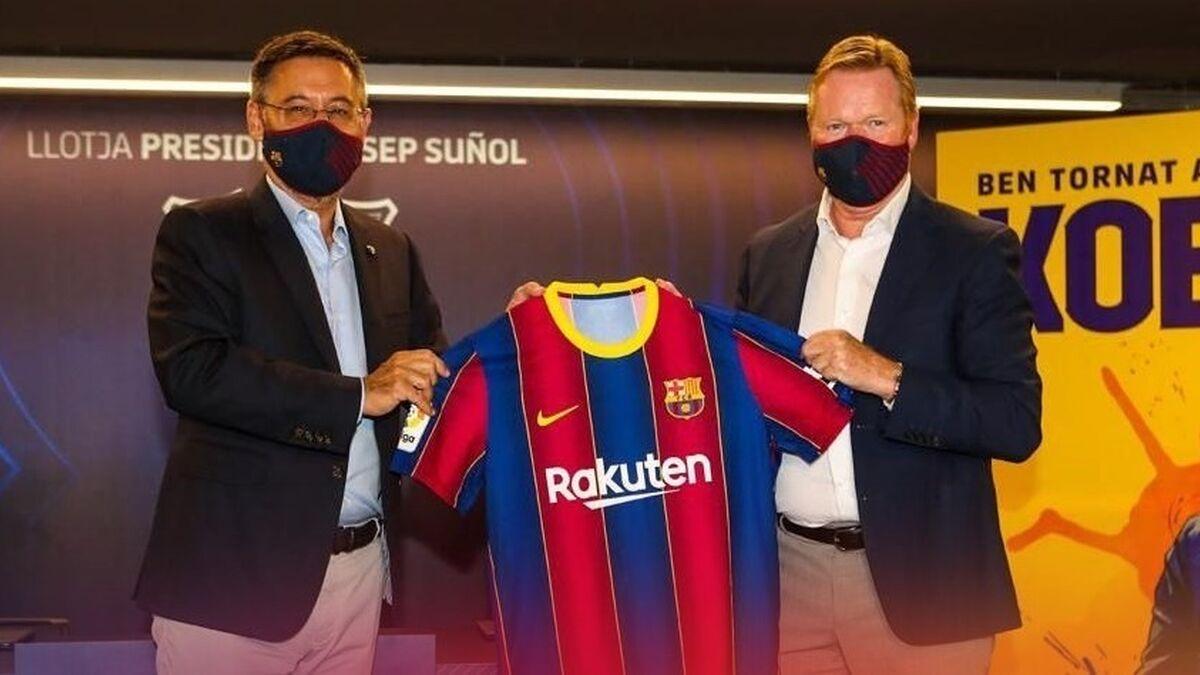 Koeman y su adiós anunciado al Barça