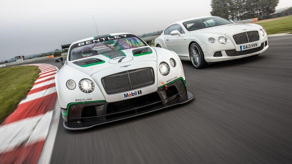 Bentley vuelve a las carreras con el Continental GT3