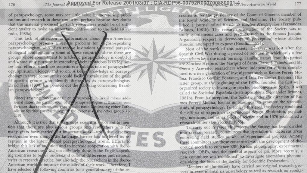 La CIA se interesó en el supuesto poder extrasensorial de dos gemelas españolas
