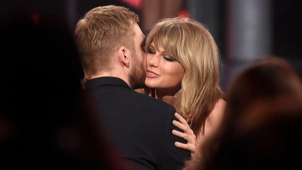 El tierno beso que confirma el amor de Taylor Swift y Calvin Harris