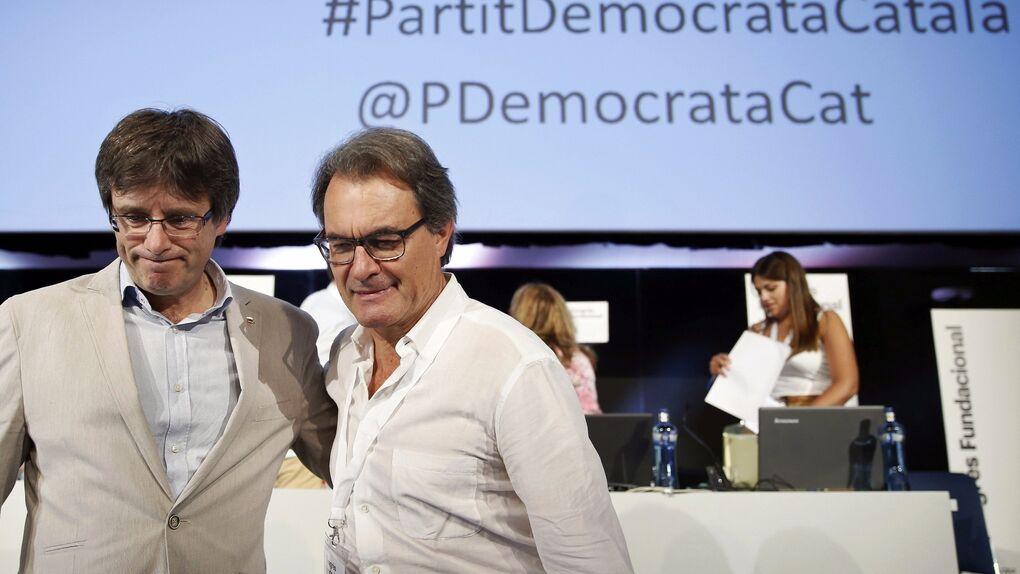 La antigua CDC pide a Interior que la inscriba con nuevo nombre: Partido Demócrata Europeo Catalán