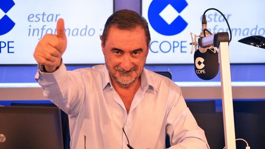 Carlos Herrera se acerca a Àngels Barceló y Onda Cero crece más que COPE y SER