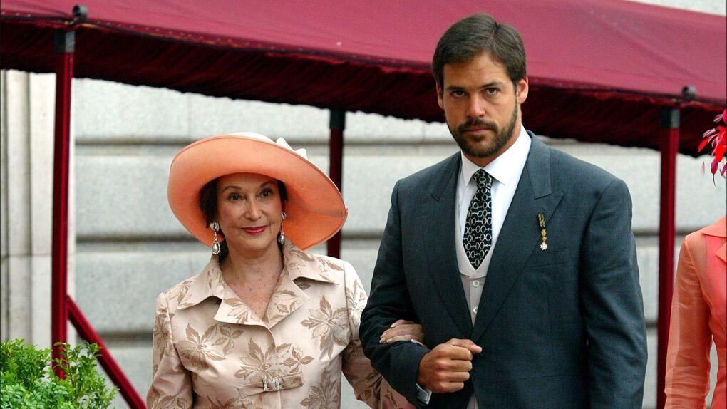 Las emotivas palabras de Luis Alfonso de Borbón a su abuela Carmen Franco