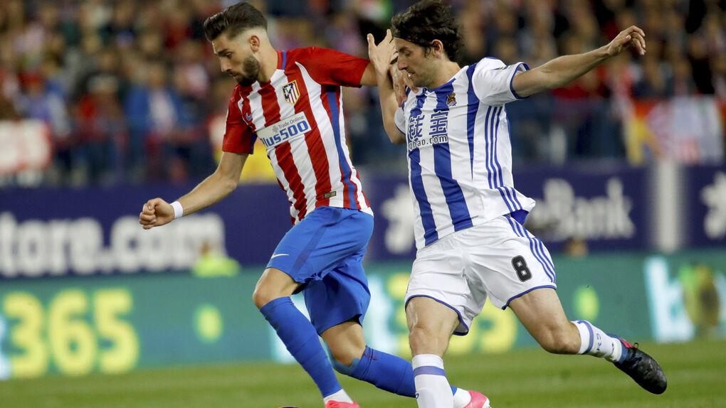 Carrasco sigue en rebeldía, Simeone templa  y el Atlético negocia su venta al Bayern
