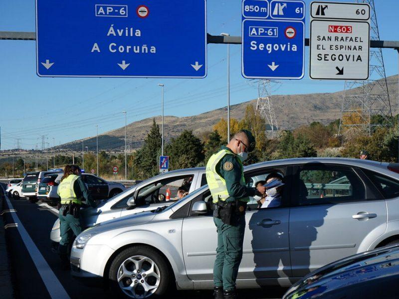 control de carretera