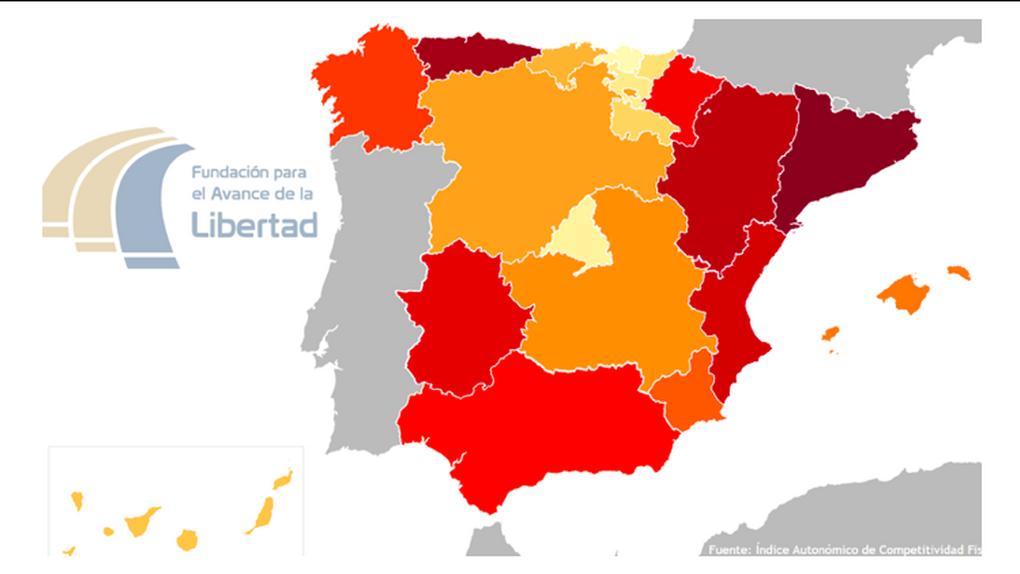Cataluña, infierno fiscal