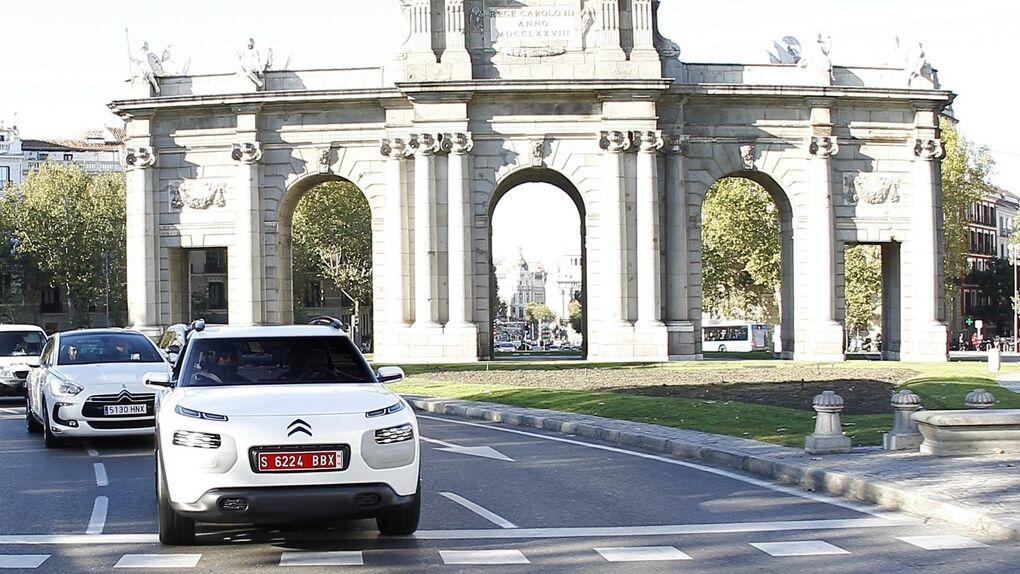 El Citroën C-Cactus, de prototipo a rodar por las calles de Madrid