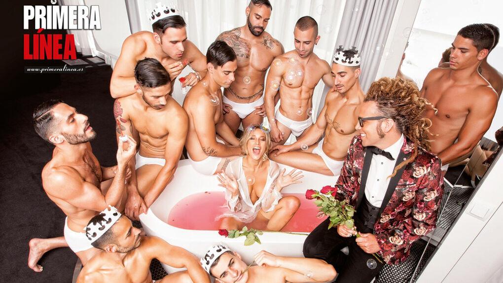Tras buscar a su príncipe, Corina Randazzo se desnuda en 'Primera Línea'