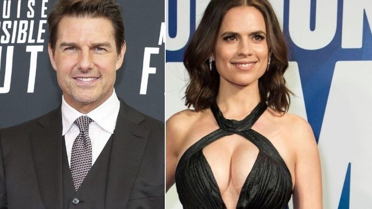 Tom Cruise sale en secreto con Hayley Atwell, coprotagonista de 'Misión Imposible 7'