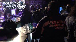Policía interviene en una fiesta