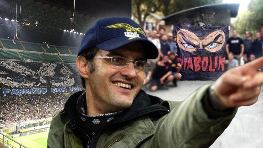 'Diabolik', el jefe ultra al que despiden con honores desde San Siro al Bernabéu