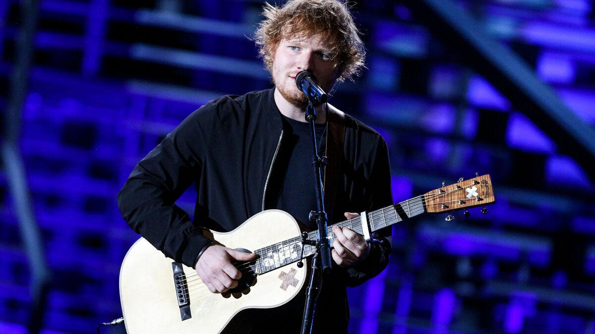 Ed Sheeran anuncia con esta foto que ha sido padre de una niña