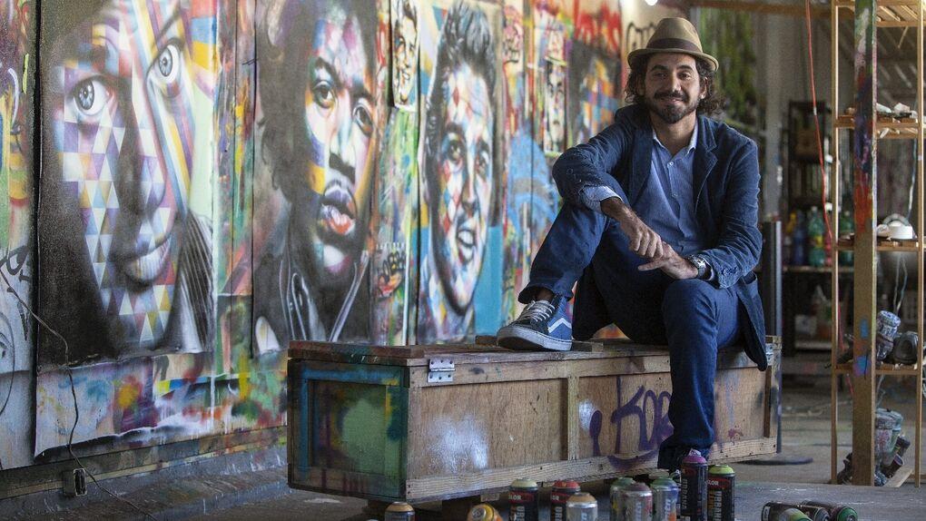 Los colores de los muros de Kobra en Sao Paulo, un museo a cielo abierto