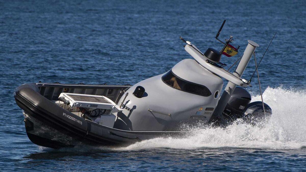 Drones y barcos teledirigidos: el plan de Galicia para rescatar a sus pescadores