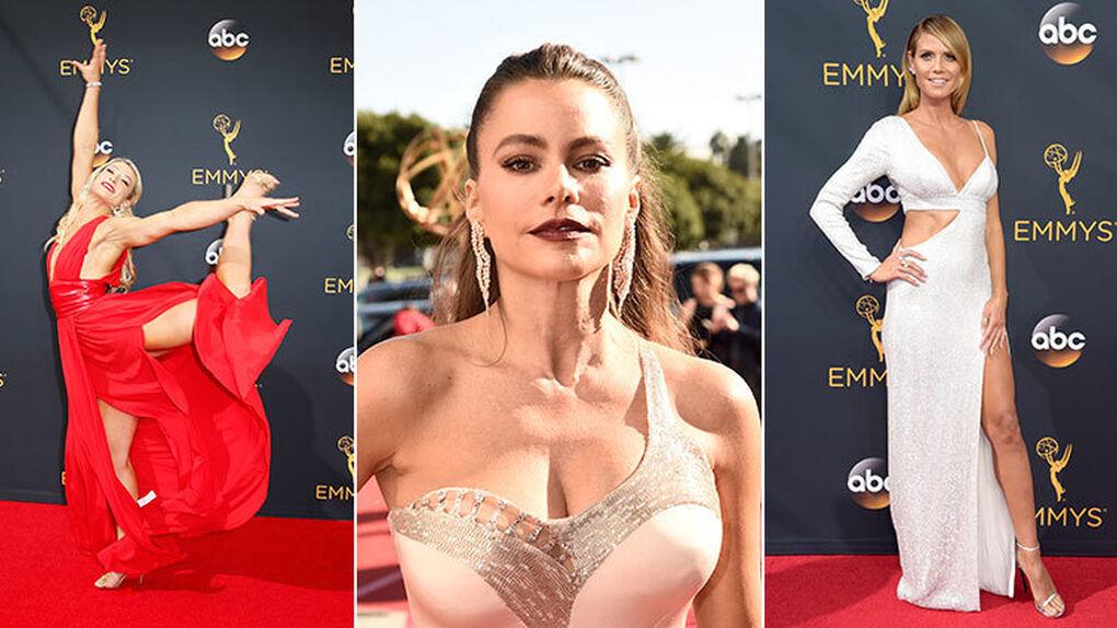 Especial escotes y aperturas: así ha sido la alfombra roja de los Emmys