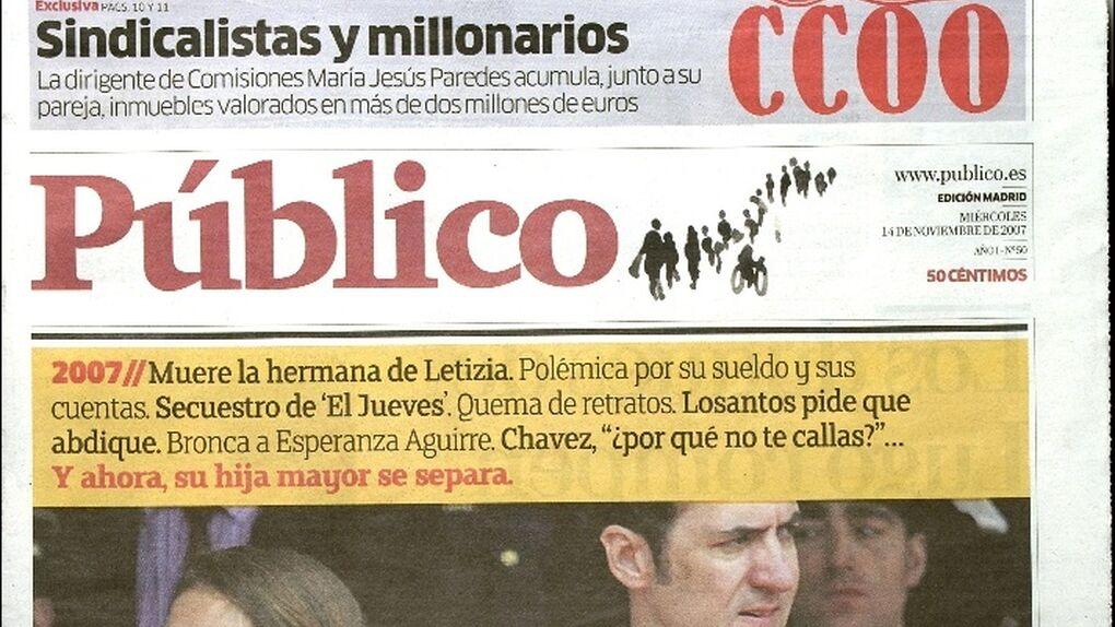 Extrabajadores de 'Público' distribuirán hoy un adelanto del diario que prevén lanzar en otoño