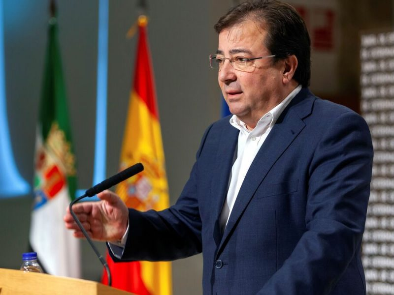 Extremadura permanecerá cerrada entre el 17 de marzo y el 9 abril