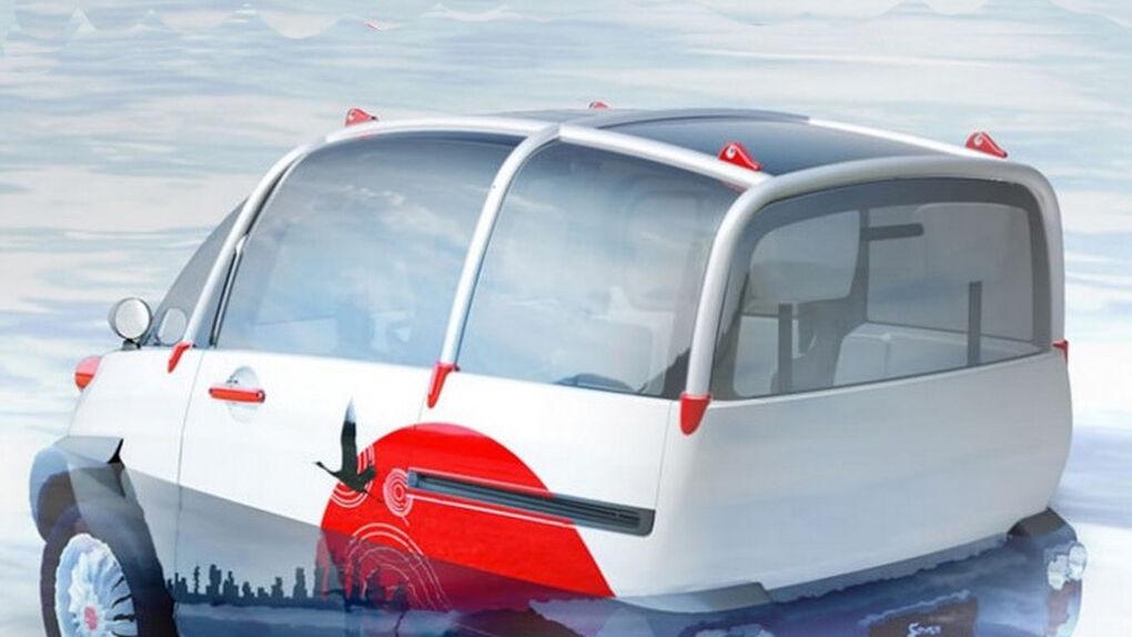 FOMM Concept One, utilitario para moverse por tierra... y agua