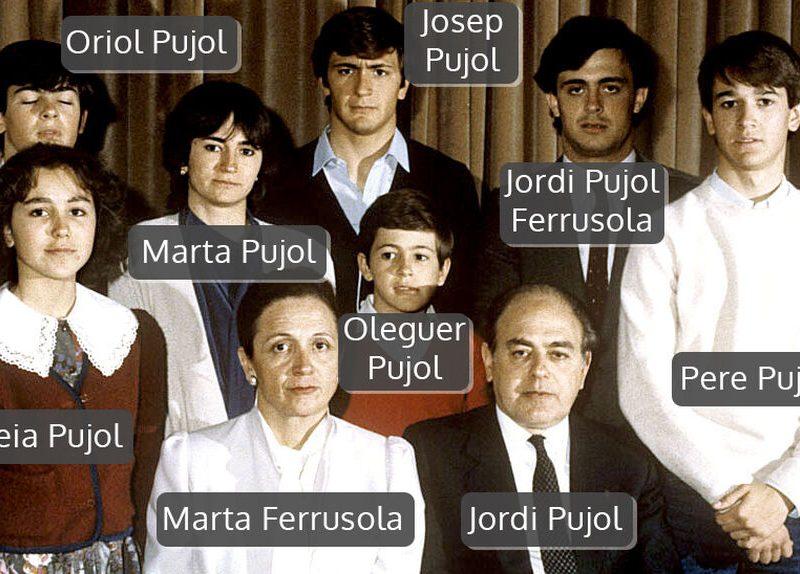 La Audiencia Nacional avala juzgar a familia Pujol por organización criminal
