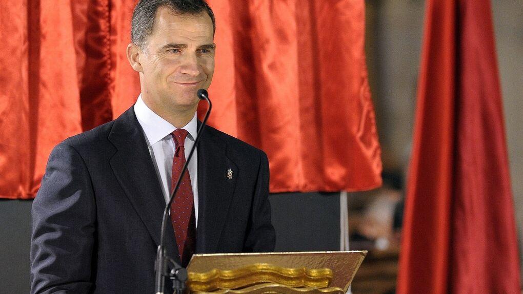 """Primeras palabras del Príncipe en solitario: """"Prometo servir a una España unida y diversa"""""""