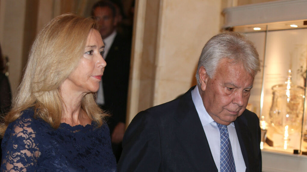 Así es la mujer de Felipe González, Mar García Vaquero, que aparece en los 'papeles de Panamá'