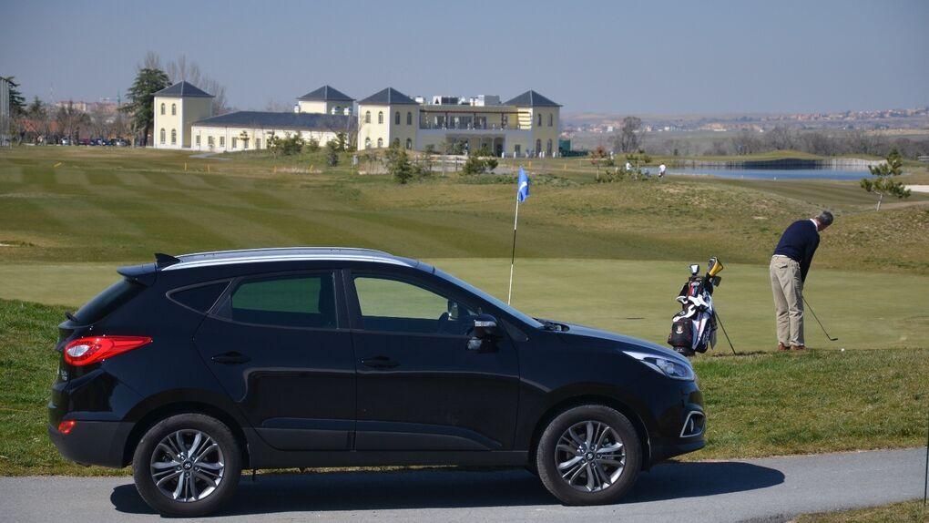 Fin de semana Hyundai en La Granja: golf, palacios y cordero de calidad