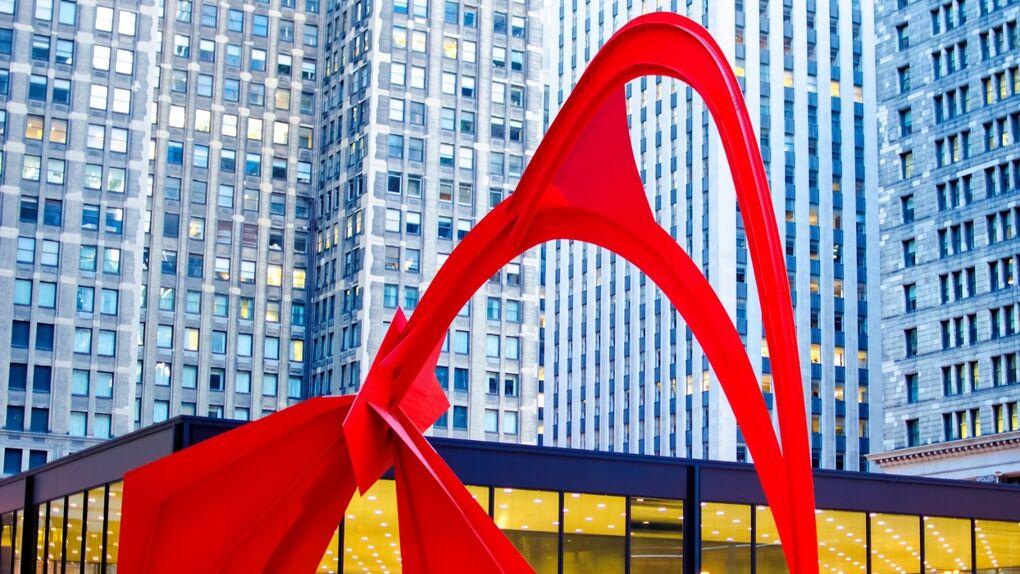 The Windy City y la escultura al aire