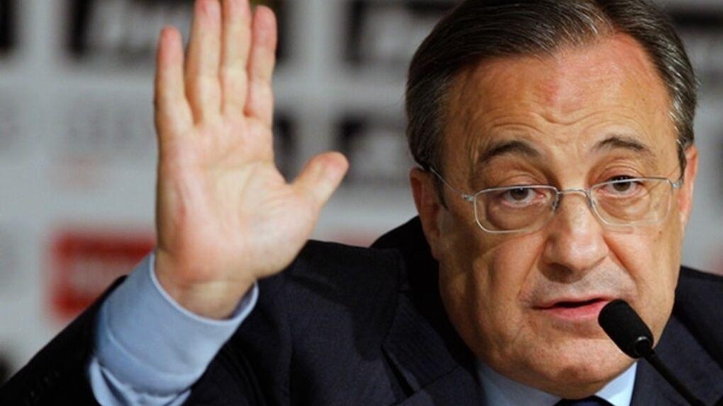 Florentino Pérez supera la covid
