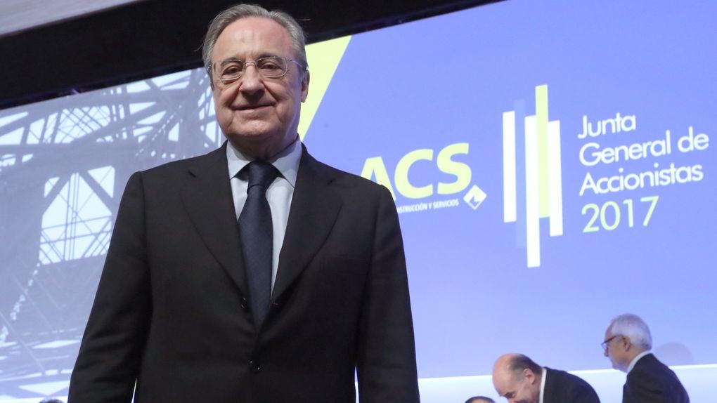 La acusación pide que Florentino Pérez aclare su papel en el agujero de la desaladora de Murcia
