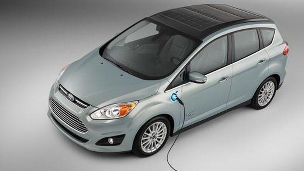 Ford C-Max Solar Energi, un híbrido recargable con la energía del sol