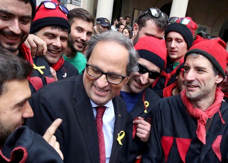 El expresidente de la Generalitat, Quim Torra.