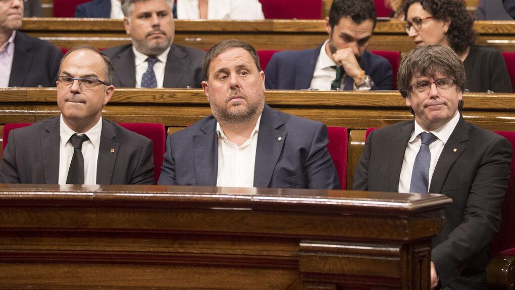 """La ley de ruptura catalana se llamará de """"Fundación de la República"""" y se aprobará antes del referéndum"""